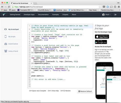 tutorial javascript in eclipse mobile app development in javascript three minute