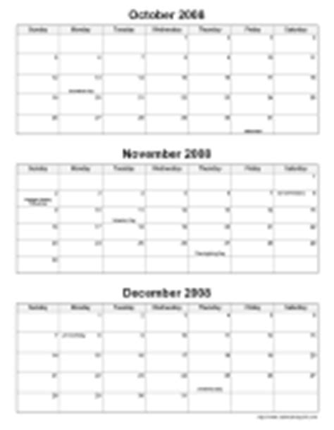 Calendar 3 Month View Printable Printable Monthly Calendars Calendarsquick