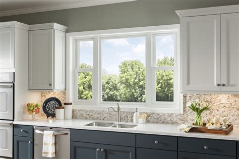 kitchen layout no window vantagepointe 6100 double hung window vantagepointe