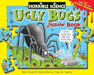 Bugs And Nature Horrible Science horrible science novelty bugs jigsaw book scholastic club