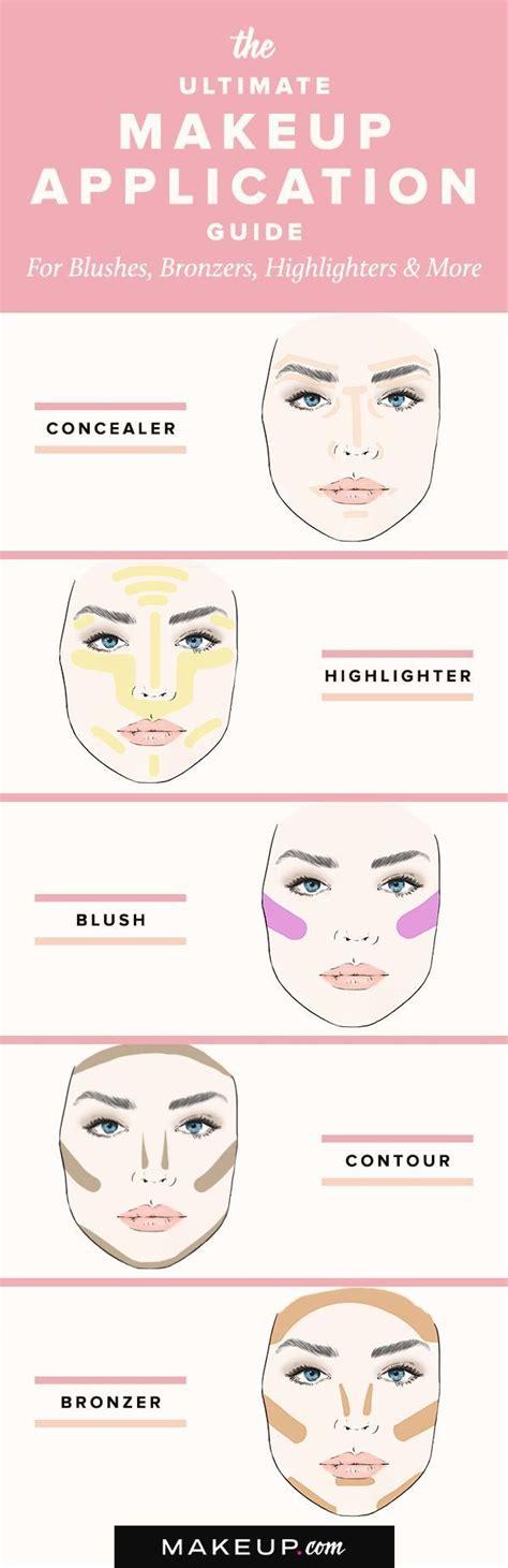 tutorial makeup untuk beginner 17 best ideas about basic makeup tutorial on pinterest