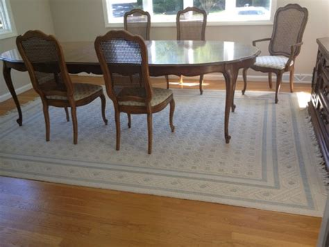 refinishing dining room table ethan allen laminate top