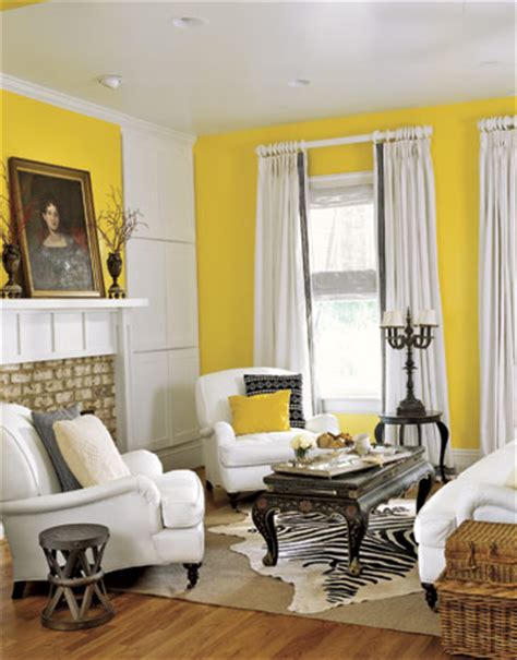 Yellow Walls Living Room by Sense And Simplicity 15 Yellow Rooms