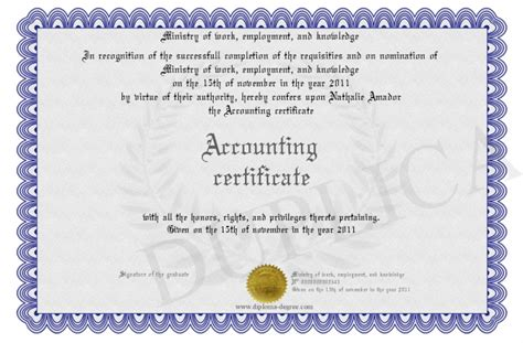 Post Mba Accounting Certificate by Accounting Certificate