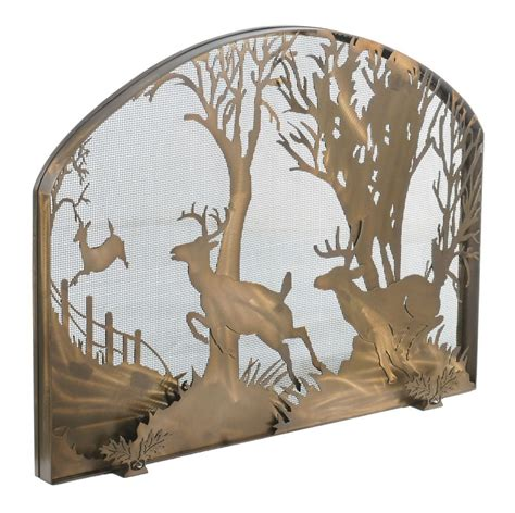 Deer Fireplace Screen by Fireplace Screens Choose A Place Screen From Our
