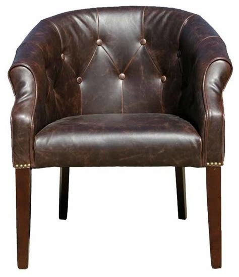 traditional armchair antique style leather tub chair traditional armchairs