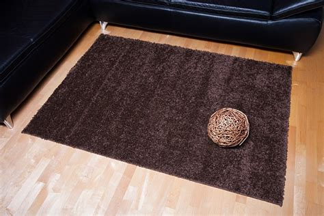 teppiche 120x170 shaggy hochflor teppich astra ibiza braun 120x170 cm