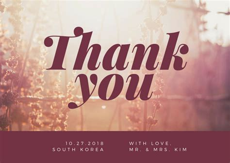 background thank you thank you postcard templates canva