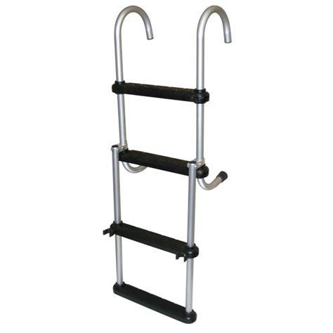 removable folding pontoon boat ladder - Folding Pontoon Boat Ladders