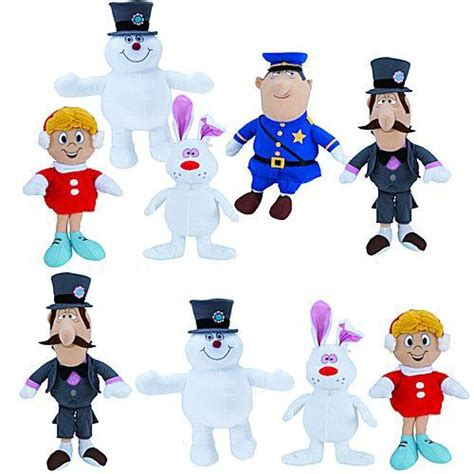 Marianne Frosty Set Of 10 frosty the snowman medium plush mix 48 ct gumball