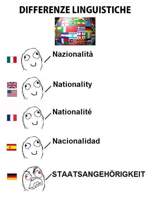 Language Differences Meme - german language meme