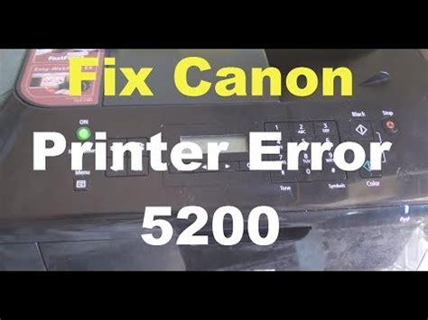 reset canon ip2700 erro 5200 how to fix 5b00 error on canon mx series printers mx320