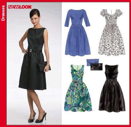 pattern review new look 6723 new look 6723 misses dresses