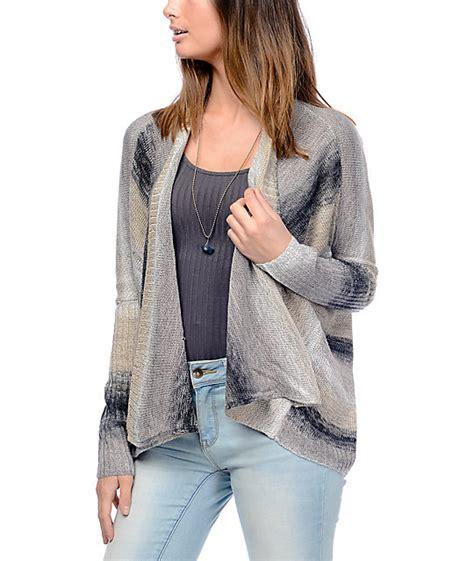 Mk2082 Eye Sweater Grey eyeshadow callie ombre grey stripe sweater