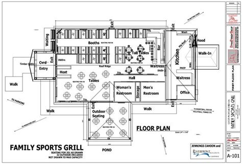 floor plans bar business plan for sports bar and grill buy paper cheap