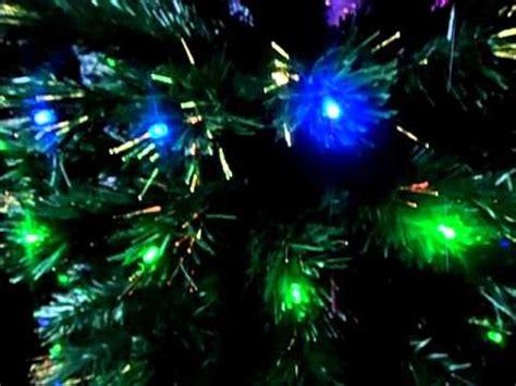 arbol de navidad fibra optica leds multicolor wmv youtube