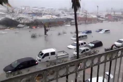 hurricane irma st martin northern caribbean islands feel hurricane irma s wrath