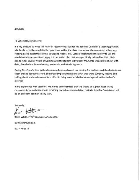 Recommendation Letter Portfolio Resume References Letters Of Recommendation Professional Portfolio