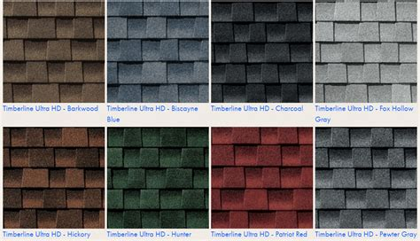 architectural shingles colors timberline vs landmark shingles compare roof shingle