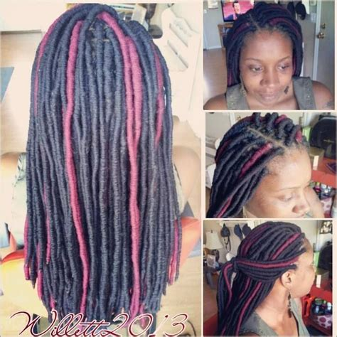 hair style with color yarn yarn dreads the hair styles i ve done so far pinterest