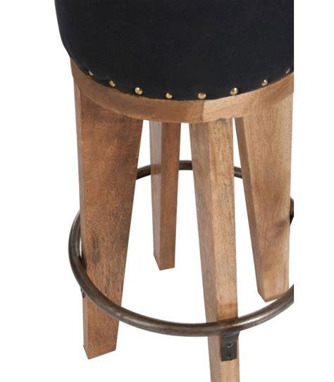 Tabouret Confortable tabouret de bar confortable esprit saloon