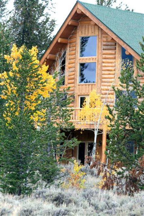 Colorado Log Cabins For Rent by Colorado Vacation Log Cabin Rental