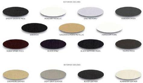 alabaster color ls460 ls460 l ls600h l brochure w color chart club