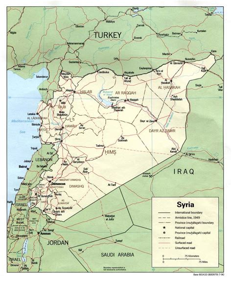 syria map of nationmaster maps of syria 19 in total