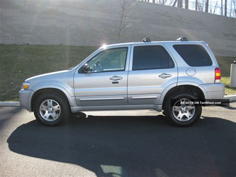 2006 ford escape 2006 ford escape limited sport utility 4 door 3 0l