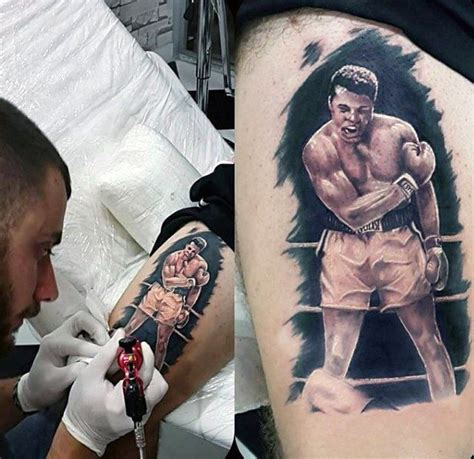 tattoo of ali 50 muhammad ali tattoo designs for men boxing chion