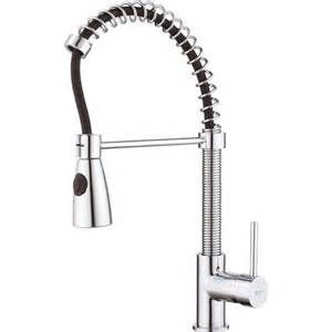 kitchen faucets with sprayer in head kraus single lever pull out kitchen faucet with dual pull