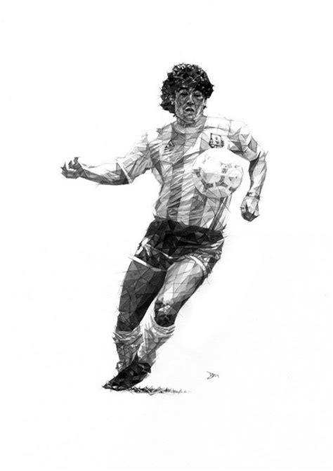 Kaos Maradona And Messi Football Artwork 149 best images about futbol on legends world