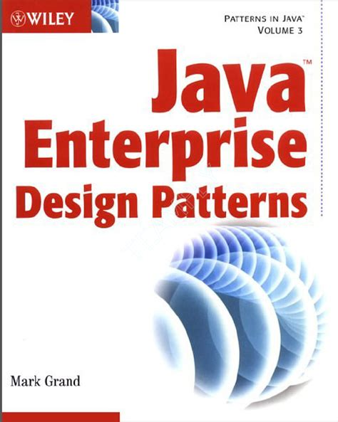 patterns in java wiley wiley java enterprise design patterns free