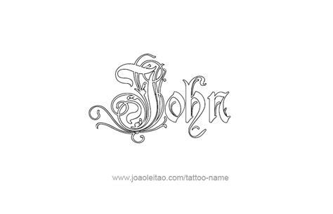 tattoo lettering john john prophet name tattoo designs tattoos with names