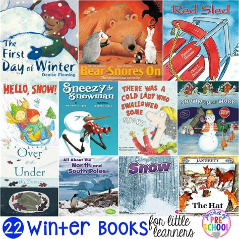 winter picture books winter books for learners pocket of preschool