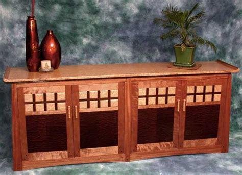 mahogany credenza woodworking blog  plans