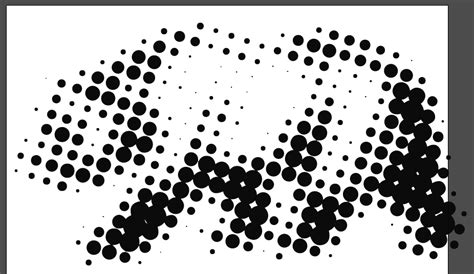 pattern illustrator dots halftone dot pattern illustrator