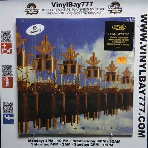 transistor genre sealed 12 quot 2xlp 311 transistor 2017 volcano legacy remastered vinylbay777