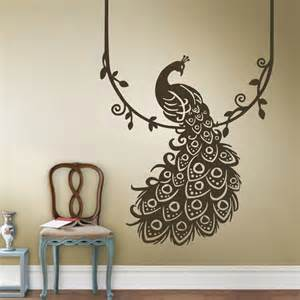 Pottery Barn Wall Murals popular peacock wall decal buy cheap peacock wall decal