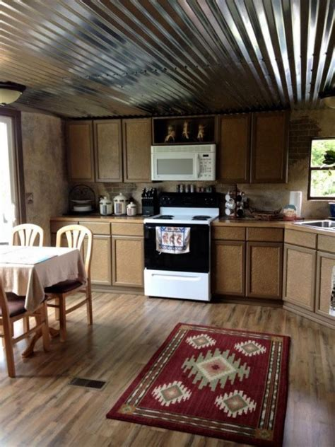 Home Decor And Renovations by Mobile Home Renovation Professional Artist Creates Rustic
