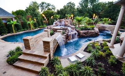 Backyard Lazy River Cost by Backyard Pool With Lazy River Outdoor Goods