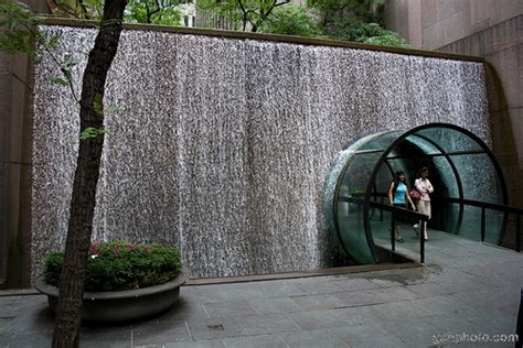 Water Wall in New York City Geoff Holden Flickr