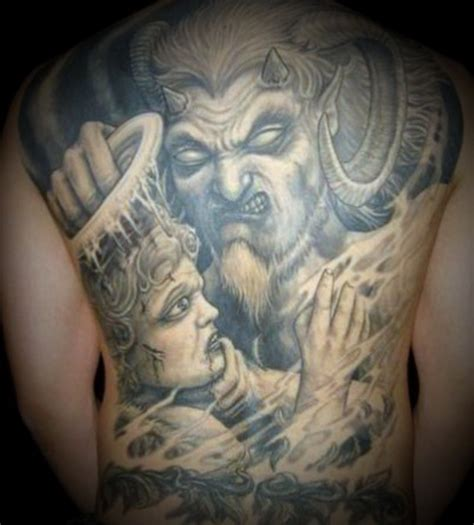 satan tattoo free pictures