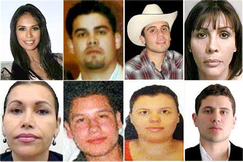 Imagenes De La Familia Del Chapo | el chapo guzm 225 n cuatro esposas y diez hijos