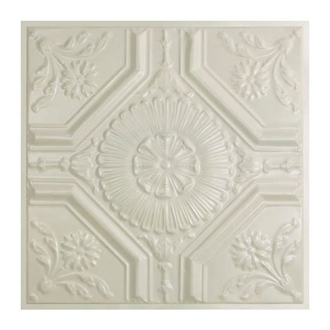 home depot tin ceiling tiles great lakes tin rochester 2 ft x 2 ft lay in tin ceiling