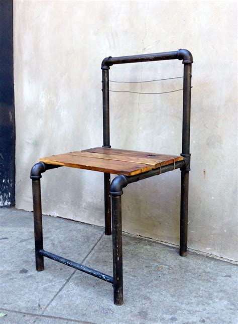 5 industrial style pipe chairs amp how to build them