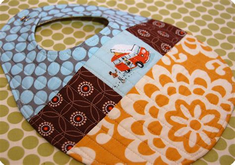 Quilted Baby Bibs Free Patterns quilted patchwork bib pattern and tutorial sew she sews s