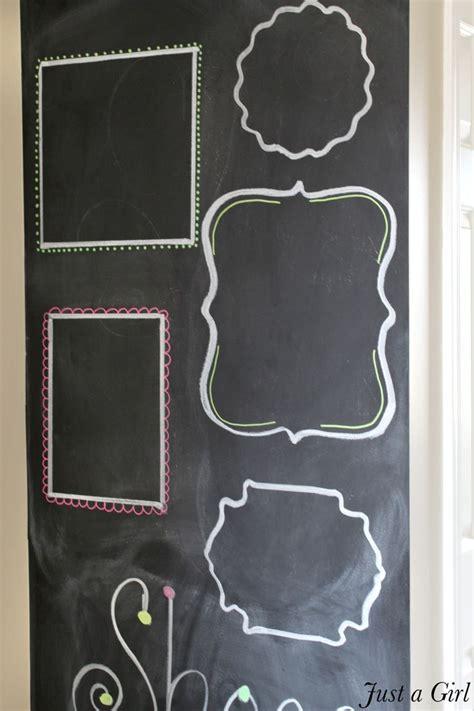diy chalkboard wall frame chalkboard wall frames chalkboard