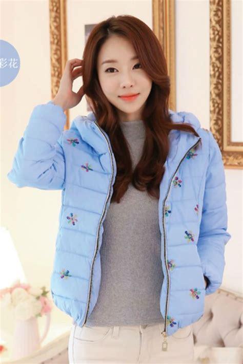 Baju Luar Wanita Hoody Jacket Blue Size L 417934 jaket wanita korea big size blue korean jacket