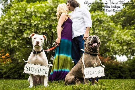 save the puppies dapper wedding accessories for your save the date signs onewed
